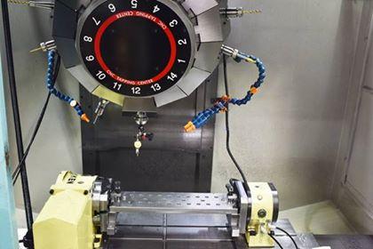 マシニング加工機
